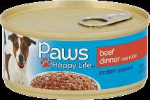 Paws 5.5 oz. Dog Food product image.