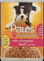 Paws Happy Life 13.2 oz. Dog Food product image.