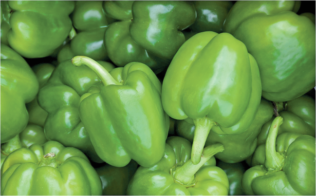 Green Bell Peppers product image.