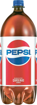 2 Liter Bottles Select Varieties Pepsi, 7up or A&W Products product image.