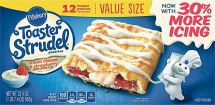 Pillsbury 8-16 ct Select Varieties Toaster Strudels product image.