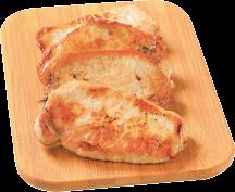 Family Pack Boneless Pork Sirloin Chops product image.