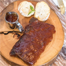 Baby Back Pork Ribs product image.