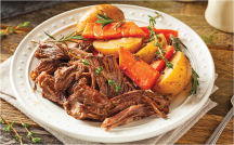 Boneless Beef Chuck Roast product image.