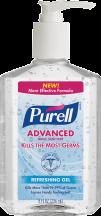 Purell 8 oz. Hand Sanitizer product image.