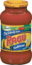Ragu 16-24 oz.Select Varieties Pasta Sauce product image.