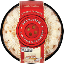Red Button Vintage Creamery 32-46 oz. Cream Pies product image.