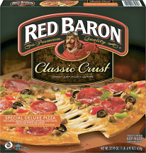Red Baron Select Varieties Pizza product image.