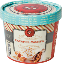 Red Button Vintage Creamery 56 oz. Select Varieties Premium Ice Cream product image.