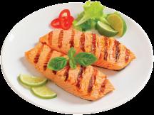 5 oz. Salmon Portions product image.