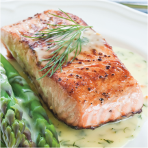 Farm Raised Fresh Coho Salmon Fillets product image.