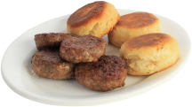Country Style Pork Sausage product image.