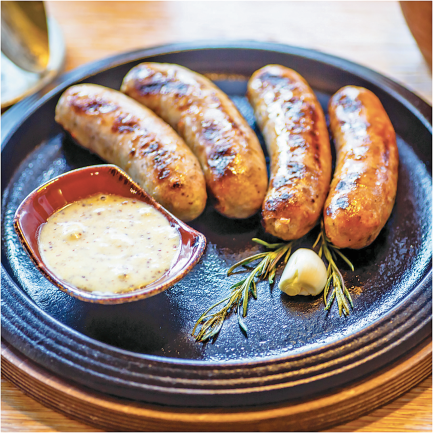 Sausages product image.