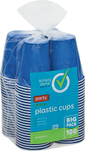 Simply Done 100 ct. Cups or 6 ct. Paper Towels or Bath Tissue product image.