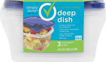 Simply Done 2-6 ct. Select Varieties Storage Containers product image.