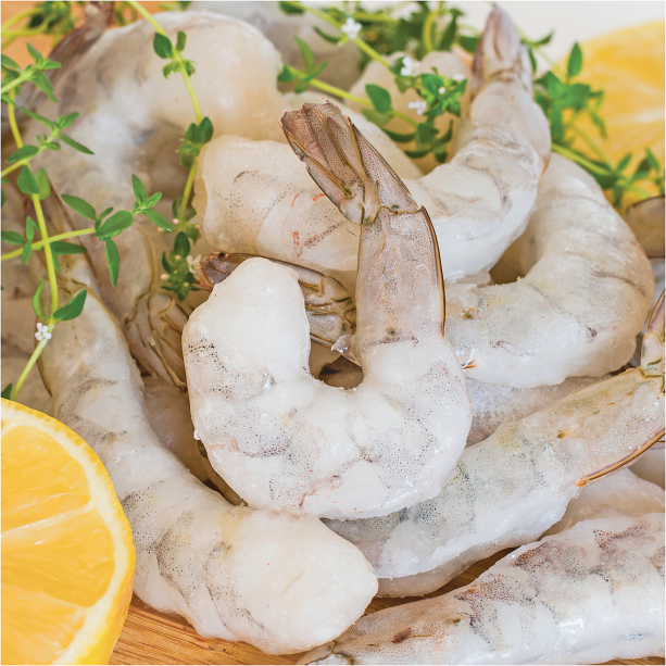 40 Knots 1 lb. 71-90 ct. Raw Shrimp product image.