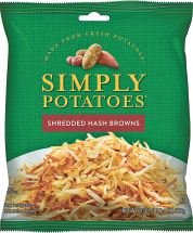 Simply Fresh  20 oz. Select Varieties Hash Browns product image.