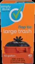 Large Trash Bags product image.