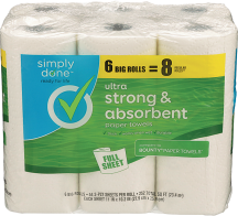 Bath Tissue or Paper Towels product image.