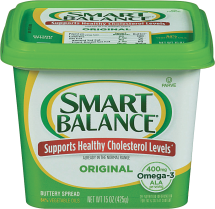 Mountain High 32 oz. Yogurt or Smart Balance 13-15 oz. Select Varieties Margarine product image.