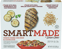 Devour or SmartMade 9-12 oz. Select Varieties Frozen Entrees product image.