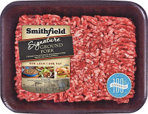 Smithfield 1 lb.80% Lean Ground Pork product image.
