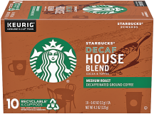 Starbuck's 6-10 ct. K-cups, 11-12 oz. Ground or Folgers 24.2-30.5 oz.Select Varieties Coffee product image.