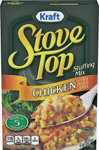 Stove Top 6 oz.Select Varieties Stuffing Mix product image.