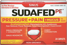 Cold & Flu relief product image.