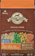 Supreme Source 6 lb. Dog Food product image.