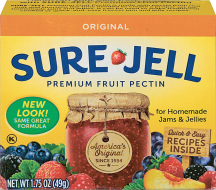 Sure-Jell 1.75 oz. or MCP 2 oz. Pectin product image.