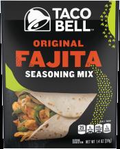 Taco Bell  1 oz. Select Varieties Seasoning product image.