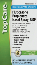 Top Care 60 ct. Nasal Spray product image.