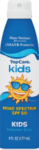 Top Care 6 oz. Kids Sunscreen Spray product image.