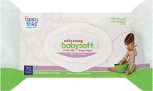 Tippy Toes 64-72 ct. Select Varieties Baby Wipes product image.