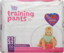 Tippy Toes 19-26 ct. Training Pants product image.