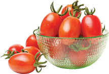 Grape Tomatoes or Hot House Cucumbers product image.