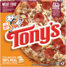 Pizzas product image.
