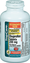 Top Care 500 ct. Pain Relief product image.
