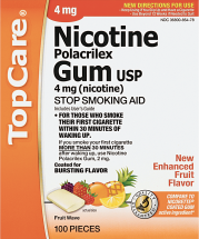 Top Care .07 or 72-100 ct. Nicotine Lozenges product image.
