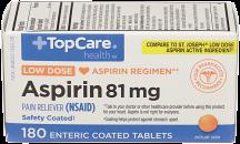 Aspirin81 mg product image.