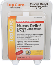 Mucus Relief product image.