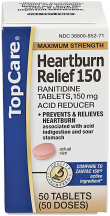 Heartburn relief product image.