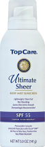 Top Care 5 oz. Extreme Sport or Ultimate Sheer Sunscreen product image.
