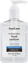 Top Care 8 oz. Hand Sanitizer product image.