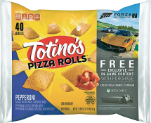 Totino's 6 ct. Pizza Sticks or 40 ct. Select Varieties Pizza Rolls product image.