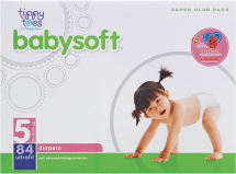 Tippy Toes 84-112 ct. Diapers product image.