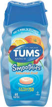 Tums 32-150 ct. Select Varieties Antacids product image.