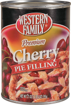 Western Family 20-21 oz. Select Varieties Pie Filling product image.