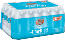Western Family Purified 24 ct PBottled Water product image.
